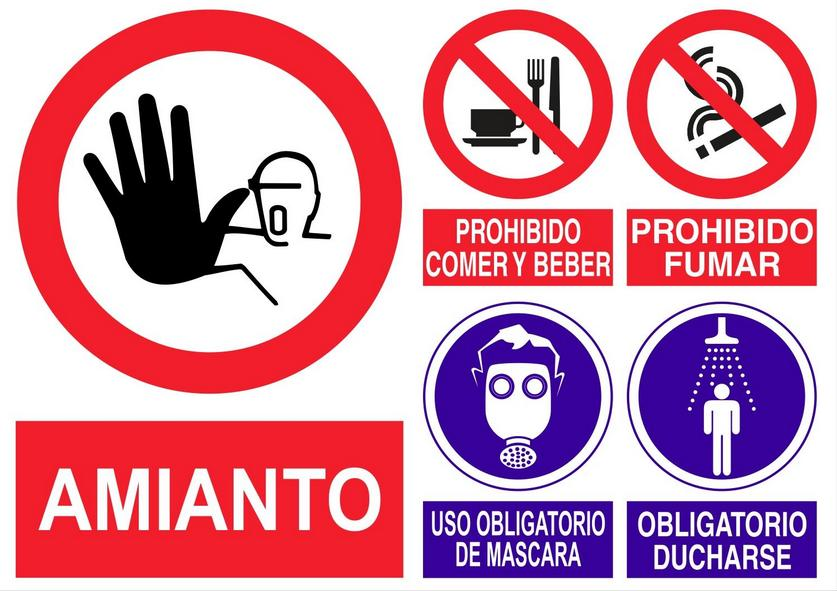 CARTEL AMIANTO